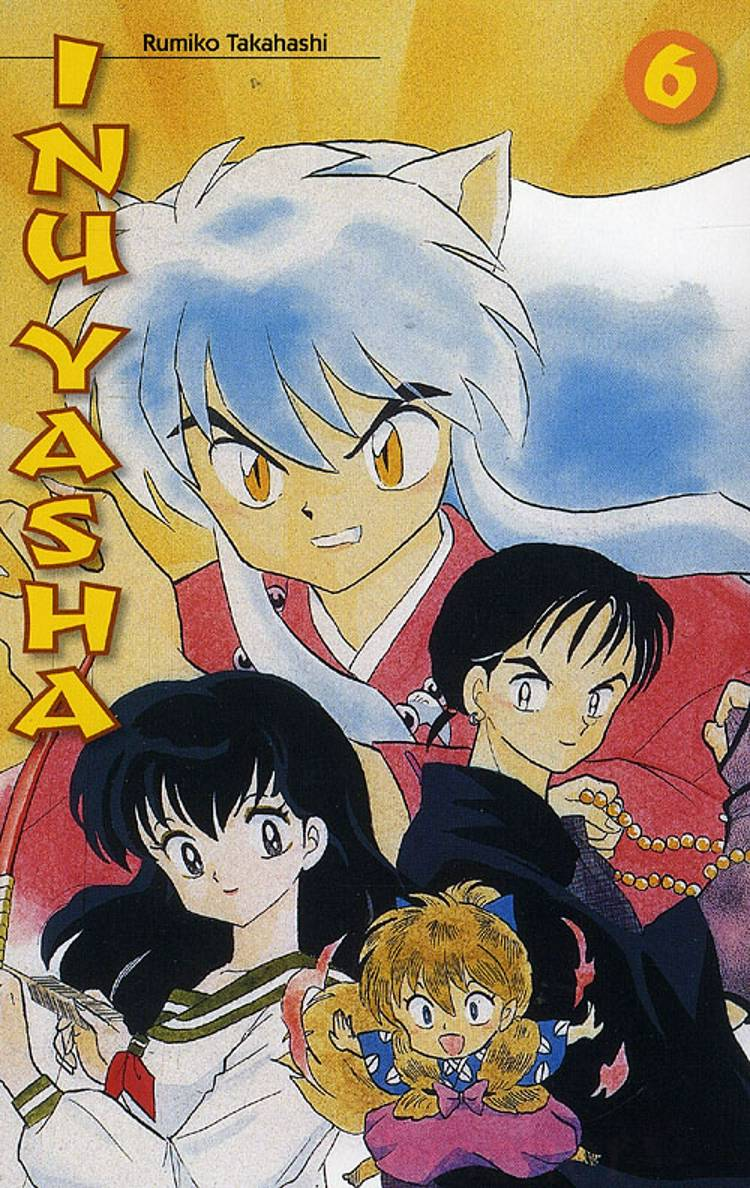 Inu Yasha nr. 6 af Rumiko Takahashi