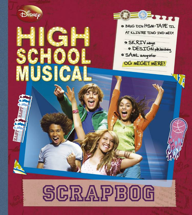 High School Musical scrapbog af Disney