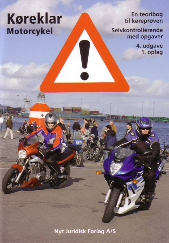 Køreklar motorcykel af Mogens Stjernqvist og Lars-Christian Borg