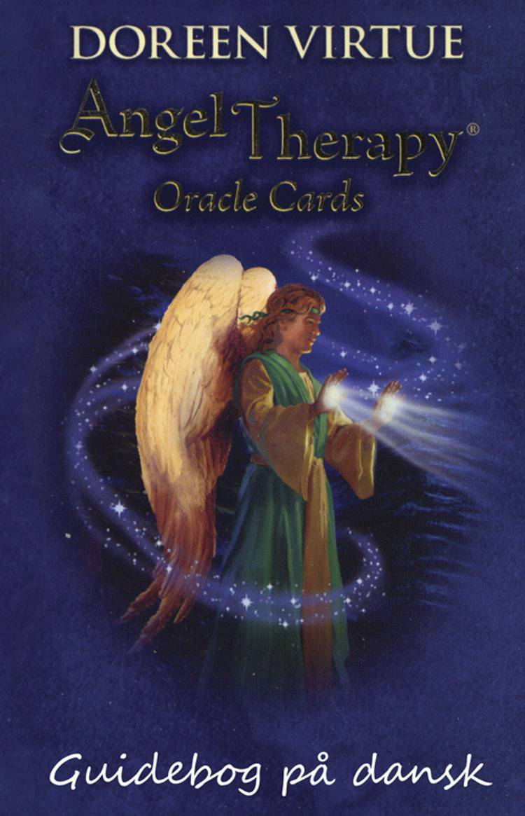 Angel Therapy Oracle Cards - guidebog på dansk af Doreen Virtue