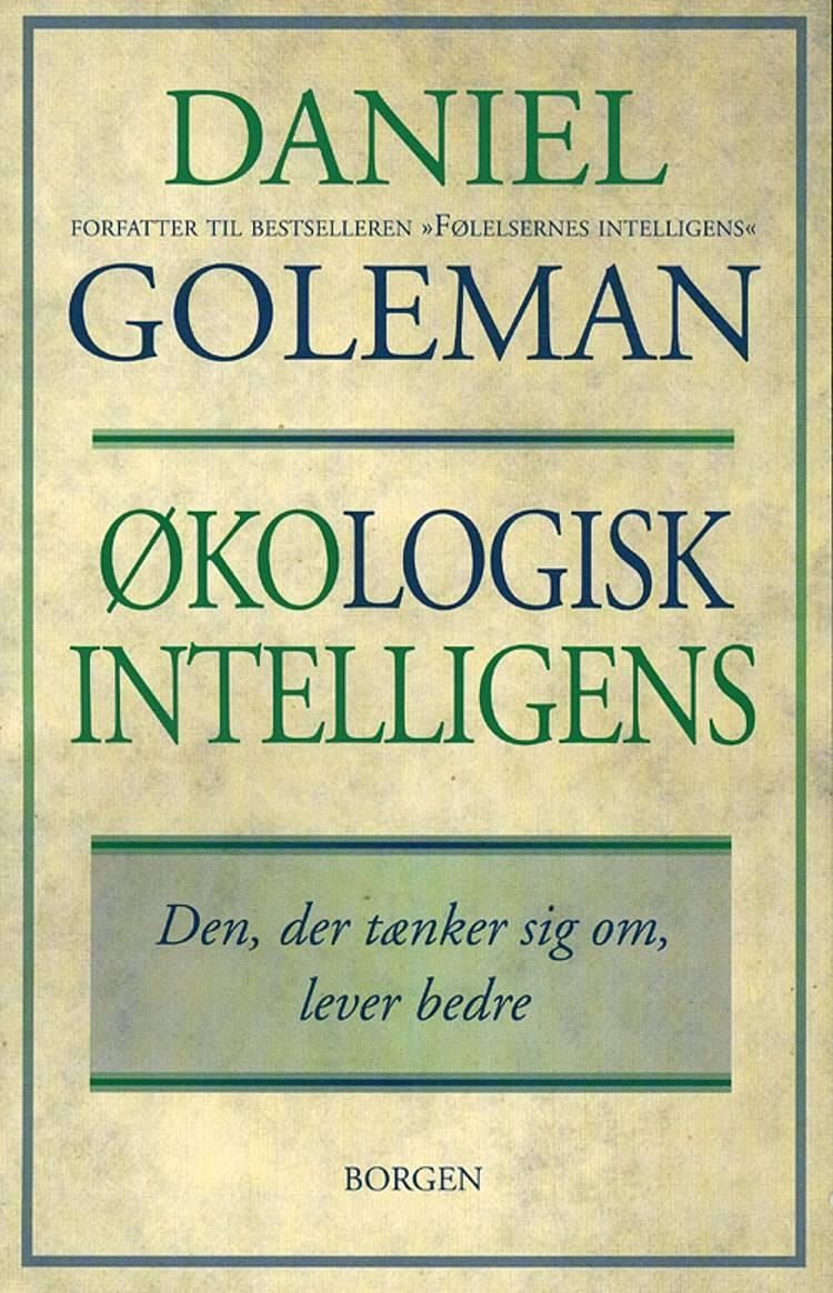Økologisk intelligens af Daniel Goleman