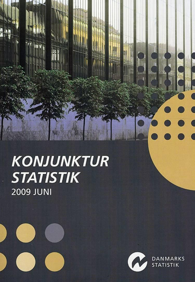 Konjunkturstatistik 2009 juni af Danmarks Statistik