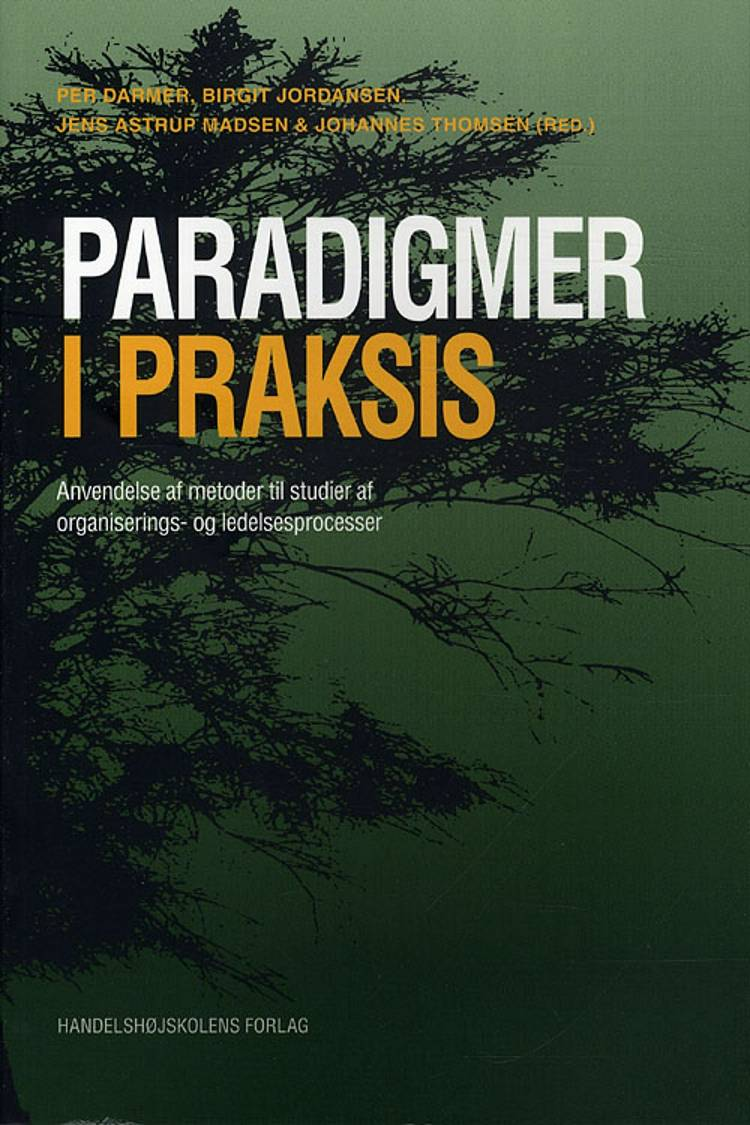 Paradigmer i praksis af Per Darmer, Birgit Jordansen, Jens Astrup Madsen og Johannes Thomsen og Birgit Jordansen og Jens Astrup Madsen