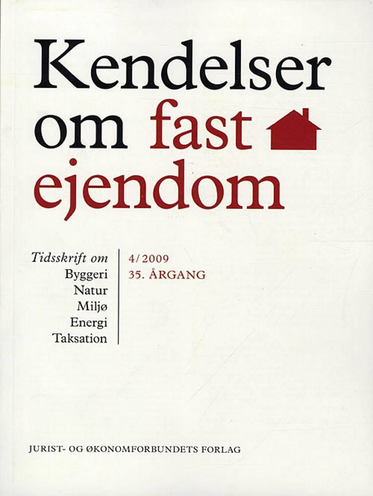 Kendelser om fast ejendom af Ellen Margrethe Basse, Erik Hørlyck og Orla Friis Jensen