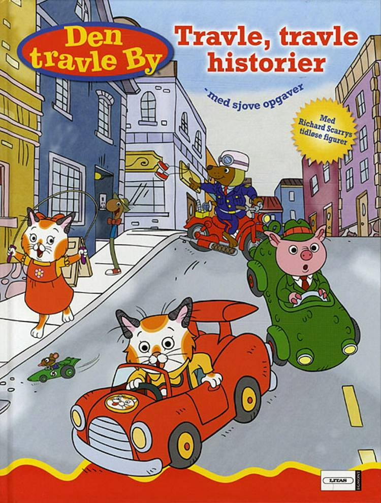 Travle, travle historier af Richard Scarry