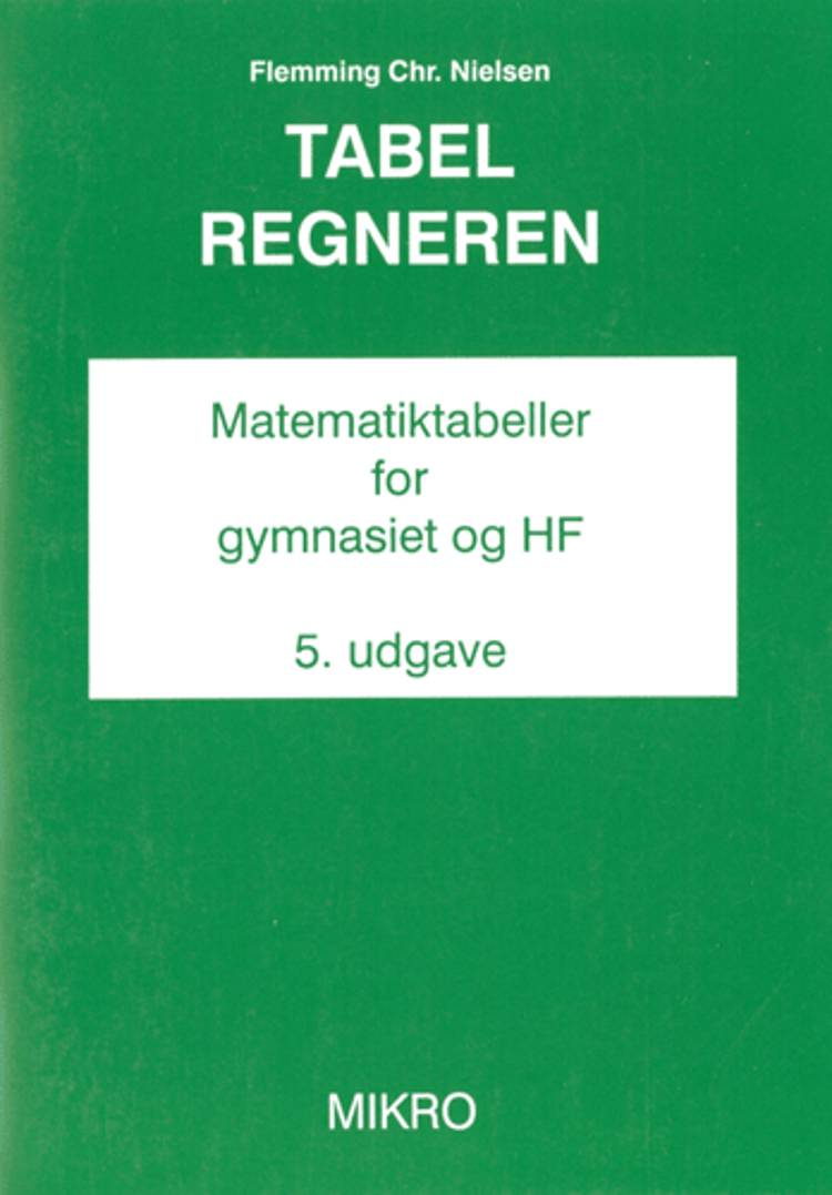 Tabelregneren af Flemming Chr. Nielsen
