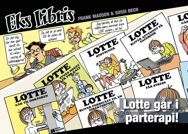 Lotte går i parterapi af Frank Madsen og Sussi Bech