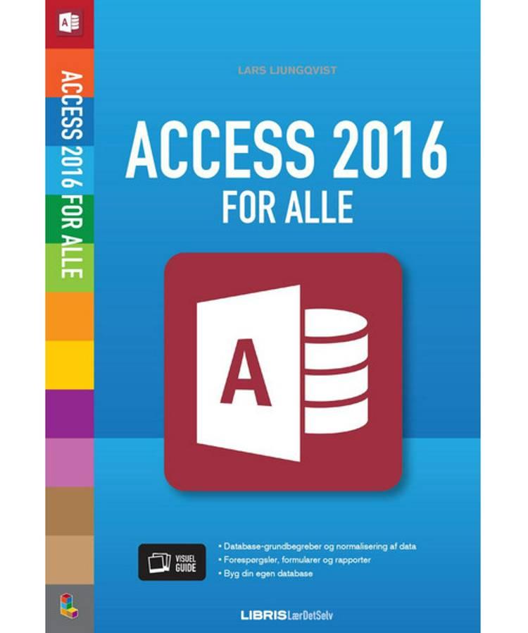 Access 2016 af Lars Ljungqvist