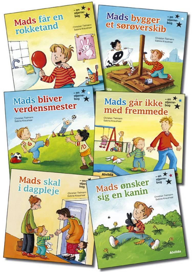 Mads og hans venner 1-6 af Christian Tielmann