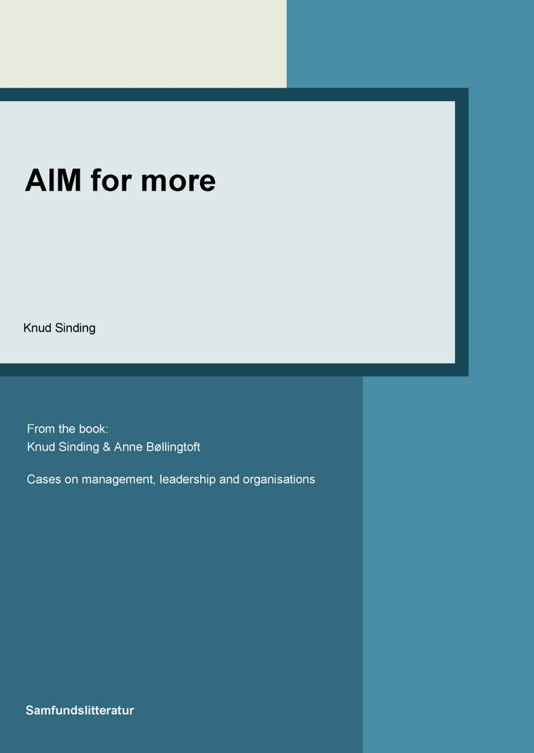 AIM for more af Knud Sinding