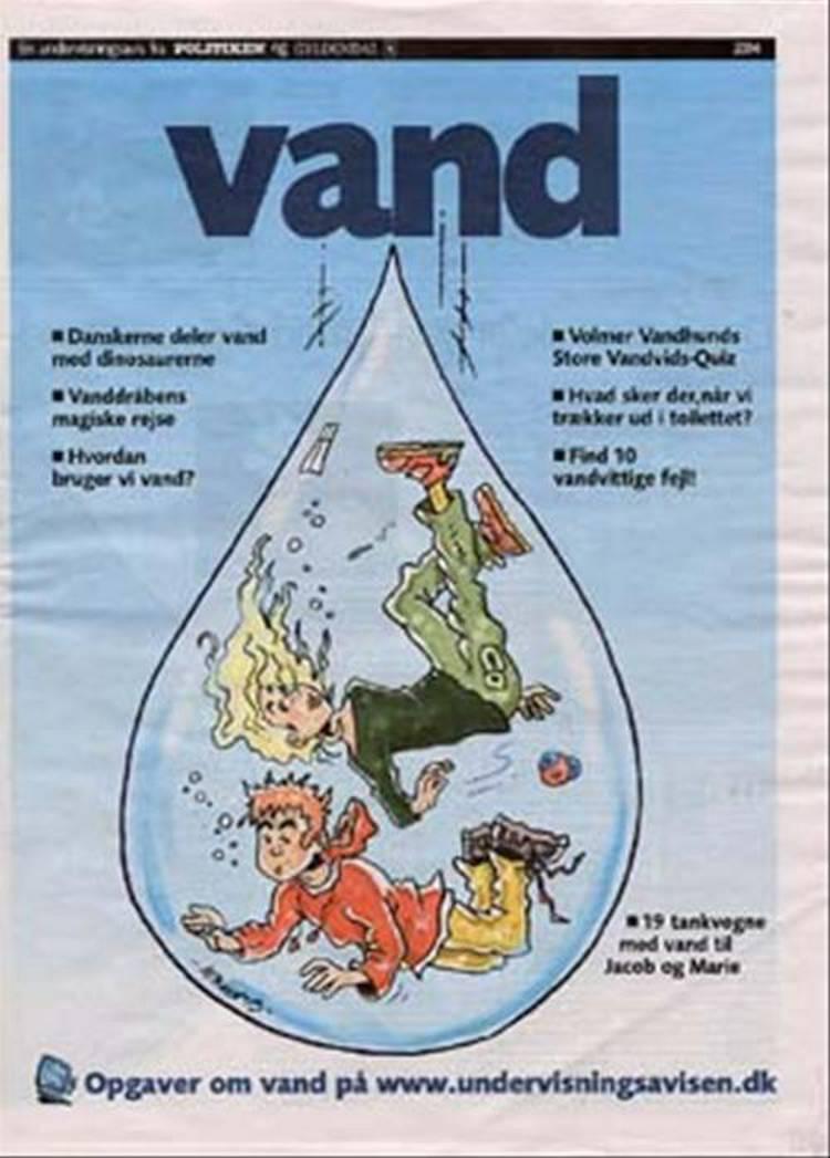 Avis. Vand. Klassesæt 4-7 klasse af Ulrik Skafte