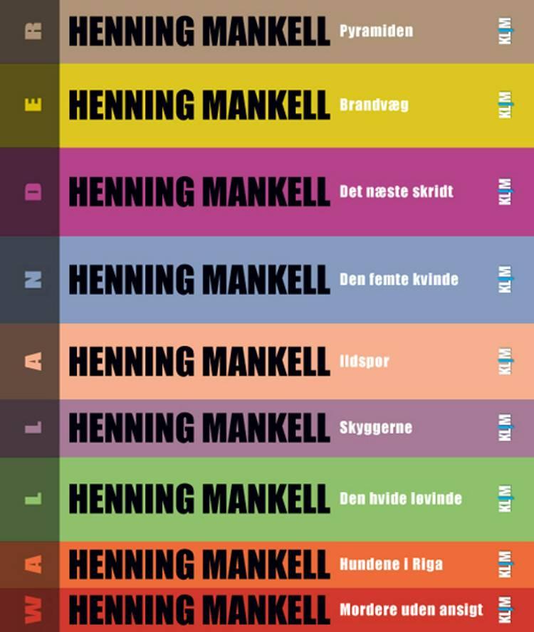 Wallander-serien 1-9 af MANKELL og HENNING