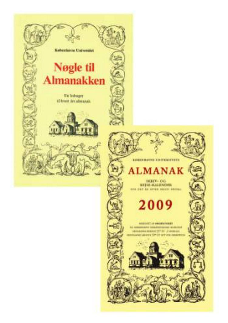 Københavns Univ. almanak (2009) + Nøgle til almanakken af SKRIVE- OG REJSEKALENDER