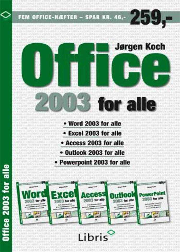 Office 2003 for alle