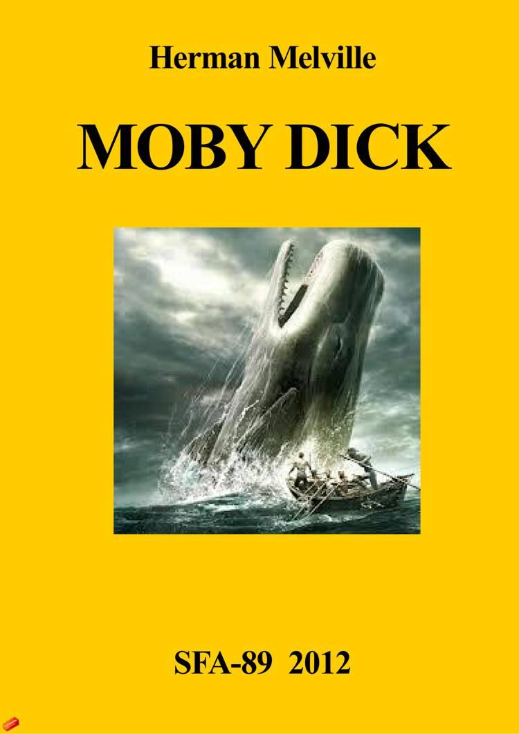 Moby Dick (engelsk) af Herman Melville