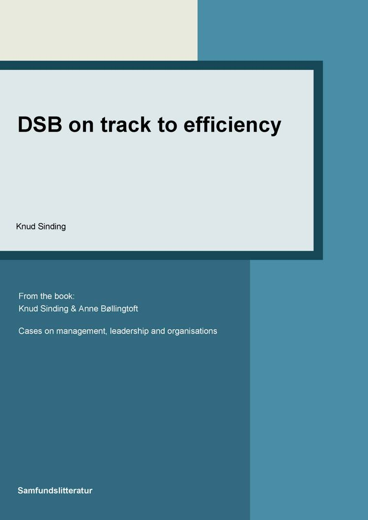 DSB on track to efficiency af Knud Sinding