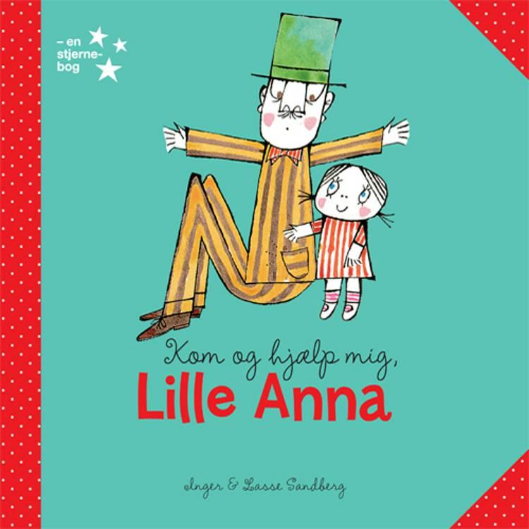 Lille Anna 1-6 (display med 24 eks.) af Inger Sandberg og Lasse Sandberg