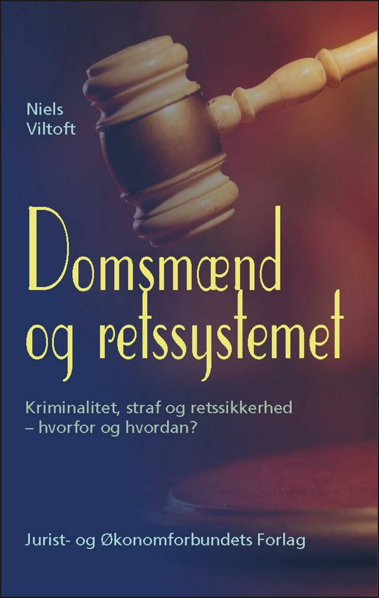Domsmænd og retssystemet af Niels Viltoft