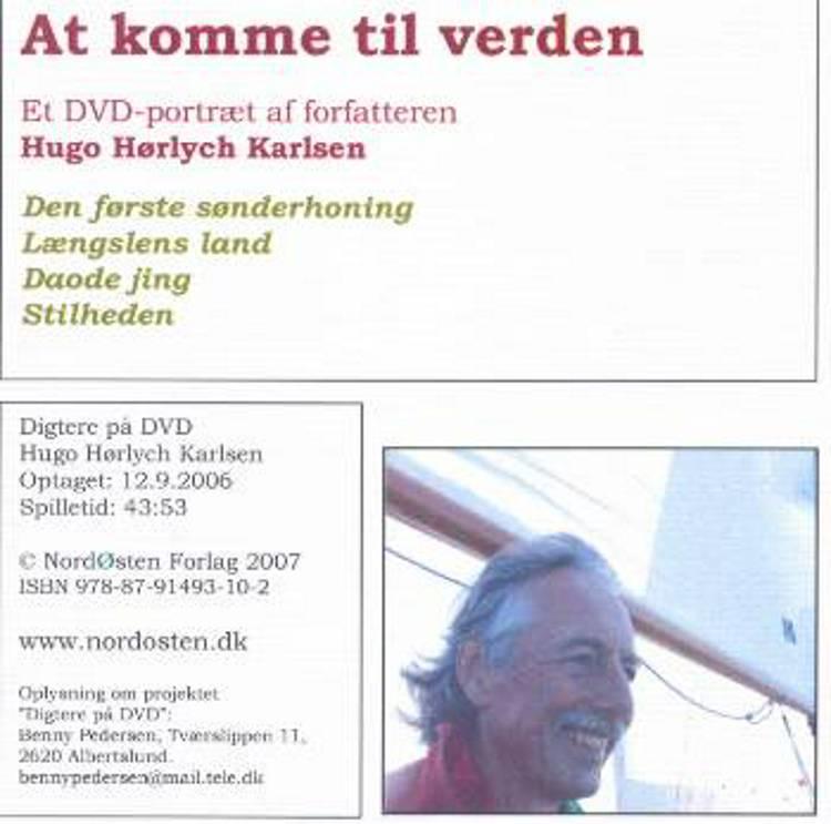 At komme til verden af Hugo Hørlych Karlsen