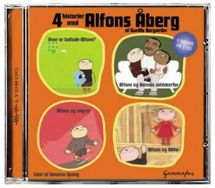 4 historier med Alfons Åberg af Gunilla Bergström