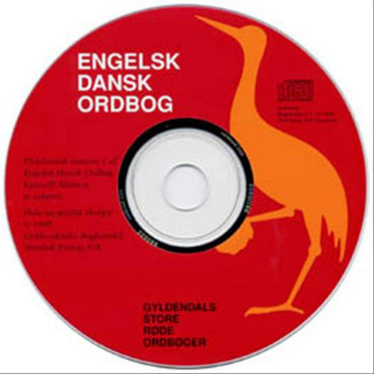 CD-ROM. ENG-DANSK, KJÆRULFF 10-BR. GB af B. Kjærulff Nielsen