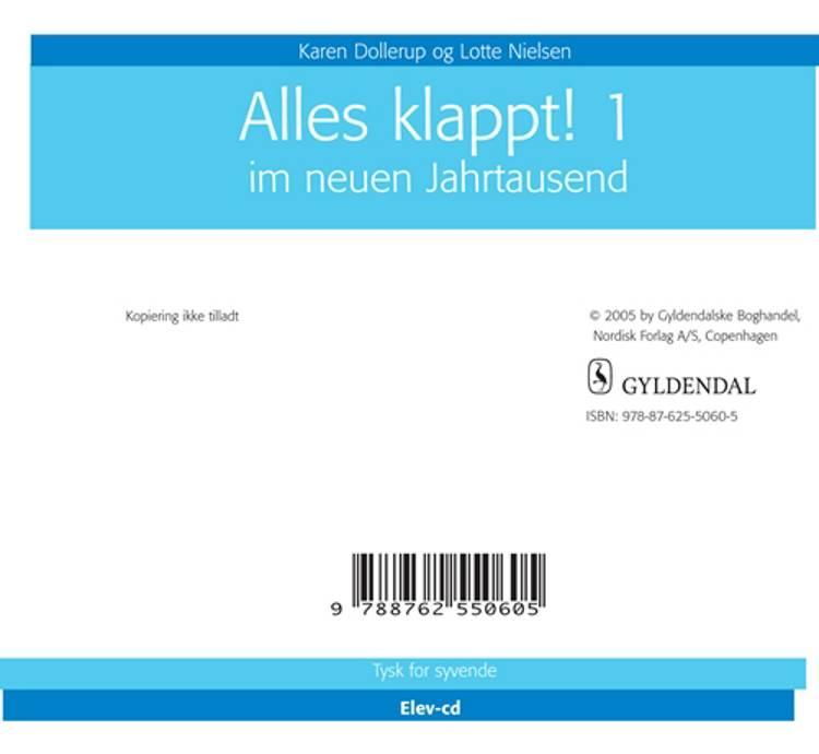 Alles Klappt 1. - Elev CD af Karen Dollerup