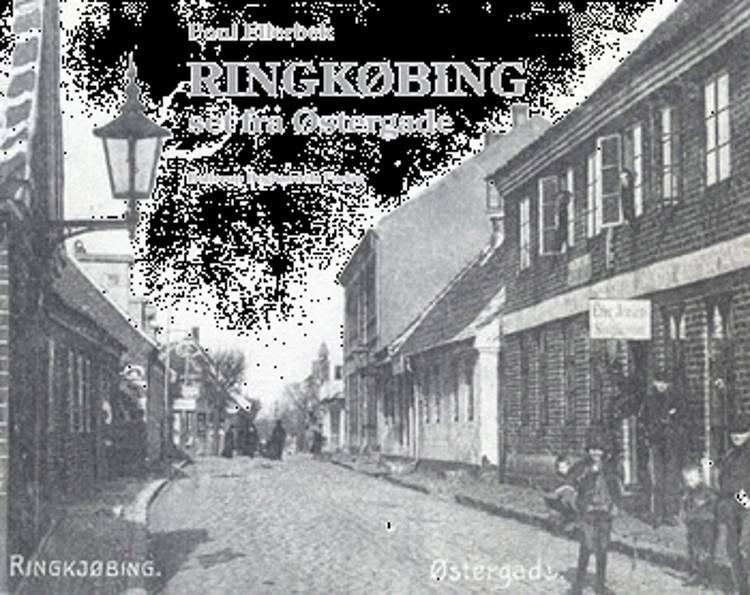 Ringkøbing set fra Østergade af Poul Ellerbek