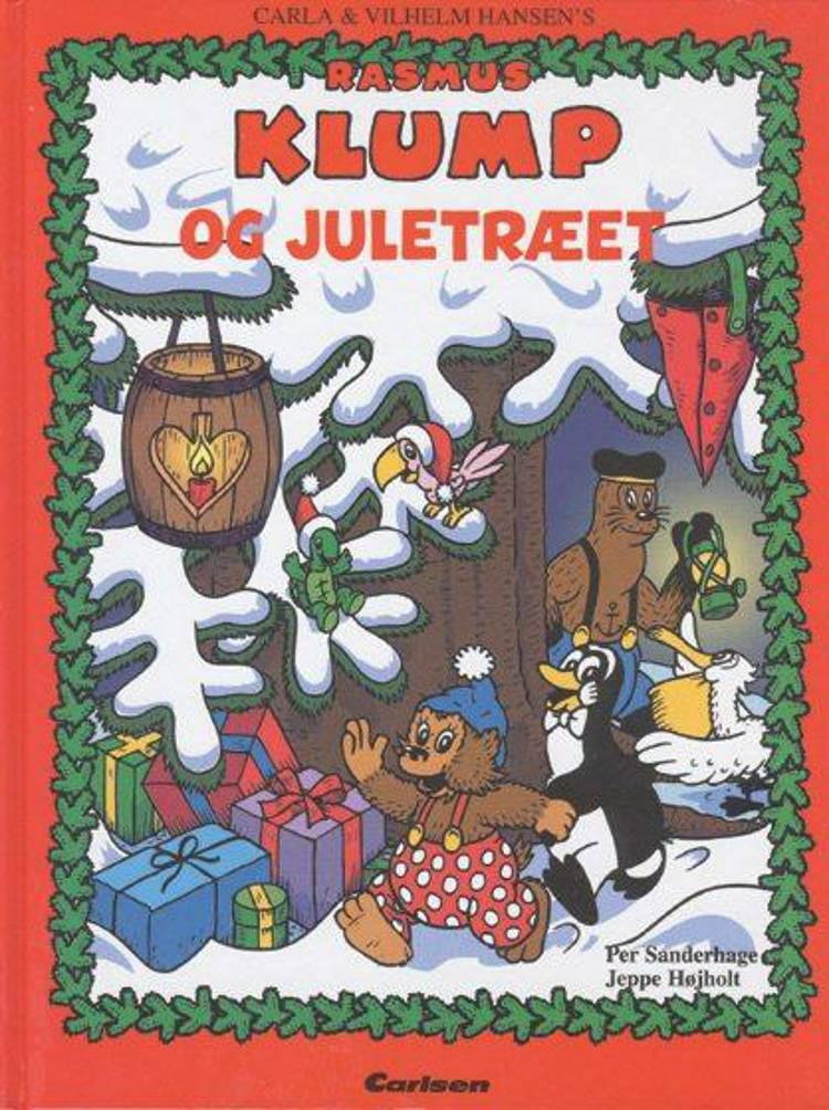 Rasmus Klump og juletræet af Vilhelm Hansen og Carla Hansen