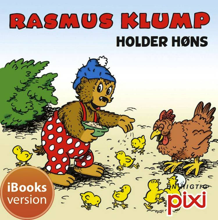 Rasmus Klump holder høns af Per Sanderhage