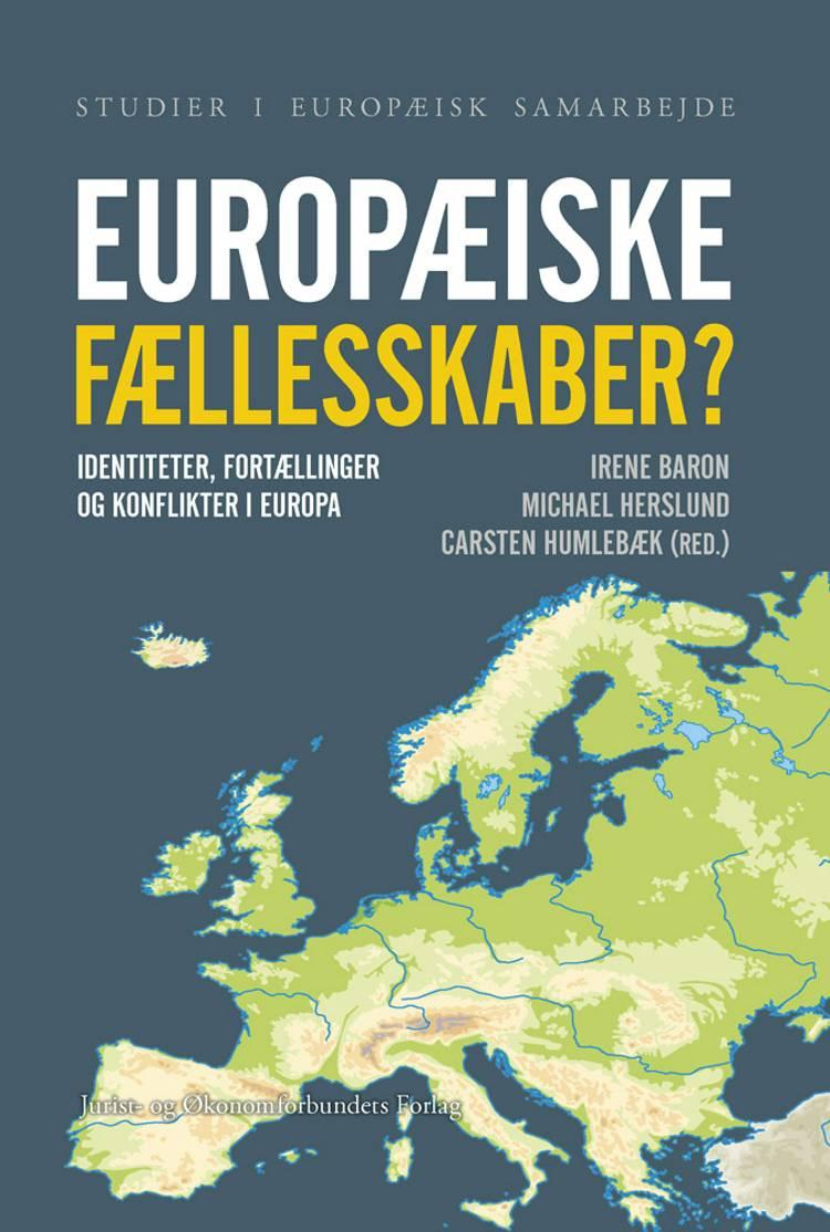 Europæiske fællesskaber? af Michael Herslund, Carsten Humlebæk, Irene Baron og Michael Herslund og Carsten Humlebæk m.fl.