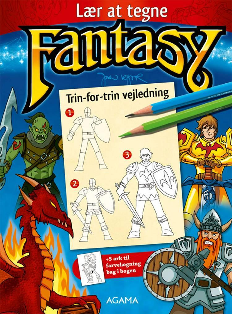 Lær at tegne fantasy af Jan Kjær
