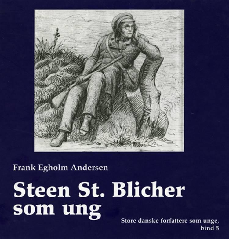 Steen St. Blicher som ung af Frank Egholm Andersen