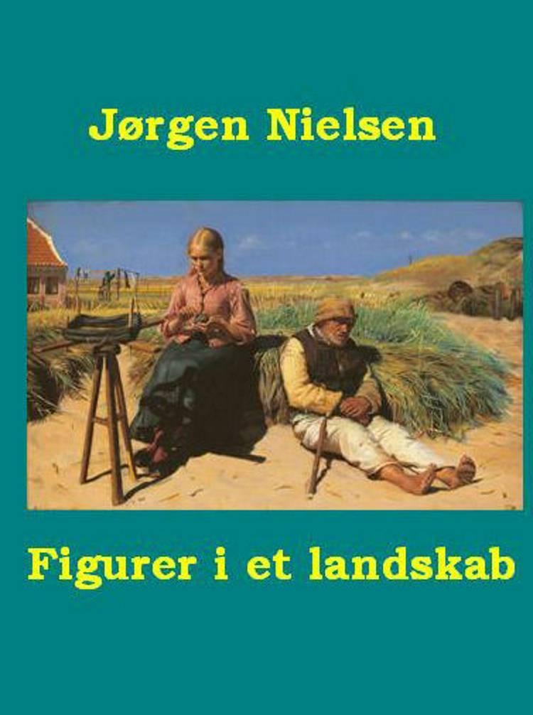 Figurer i et landskab af Jørgen Nielsen