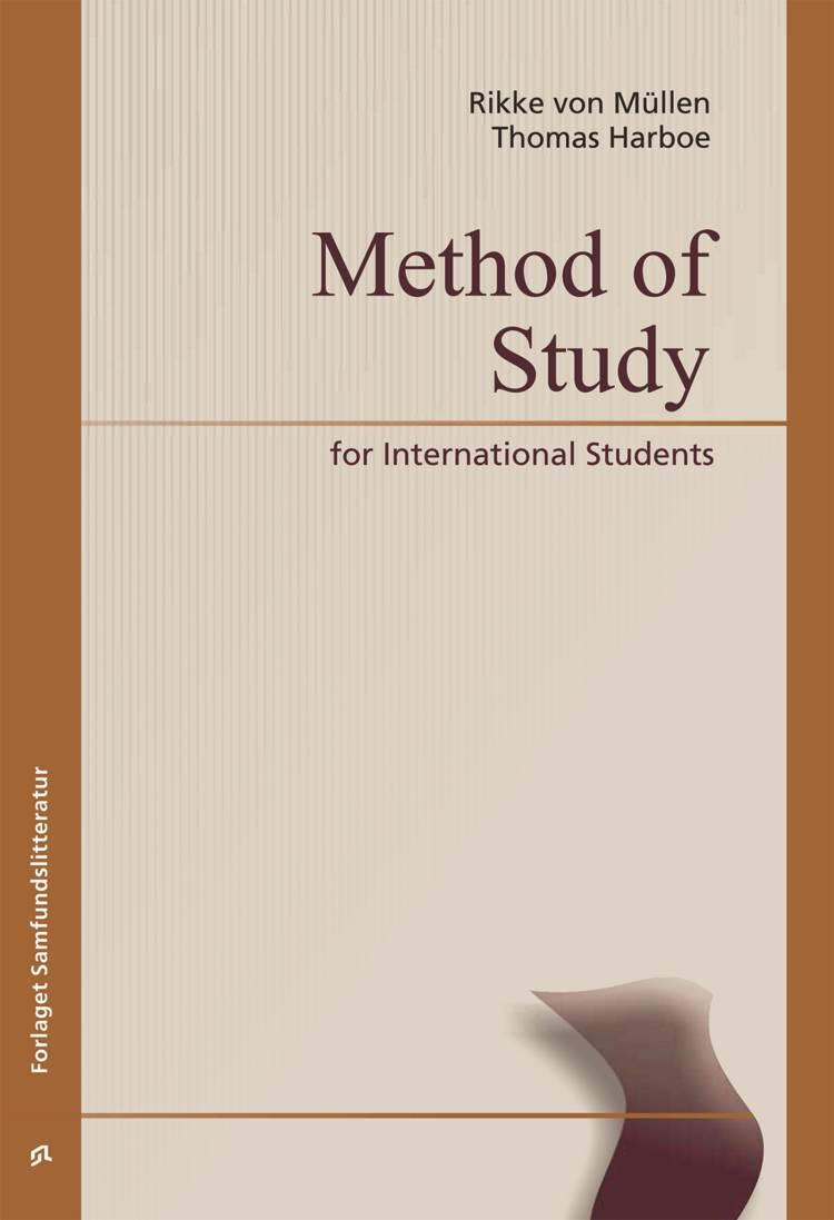 Method of study for international students af Thomas Harboe og Rikke von Müllen