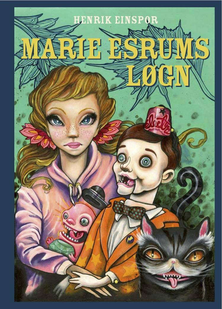 Marie Esrums løgn af Henrik Einspor