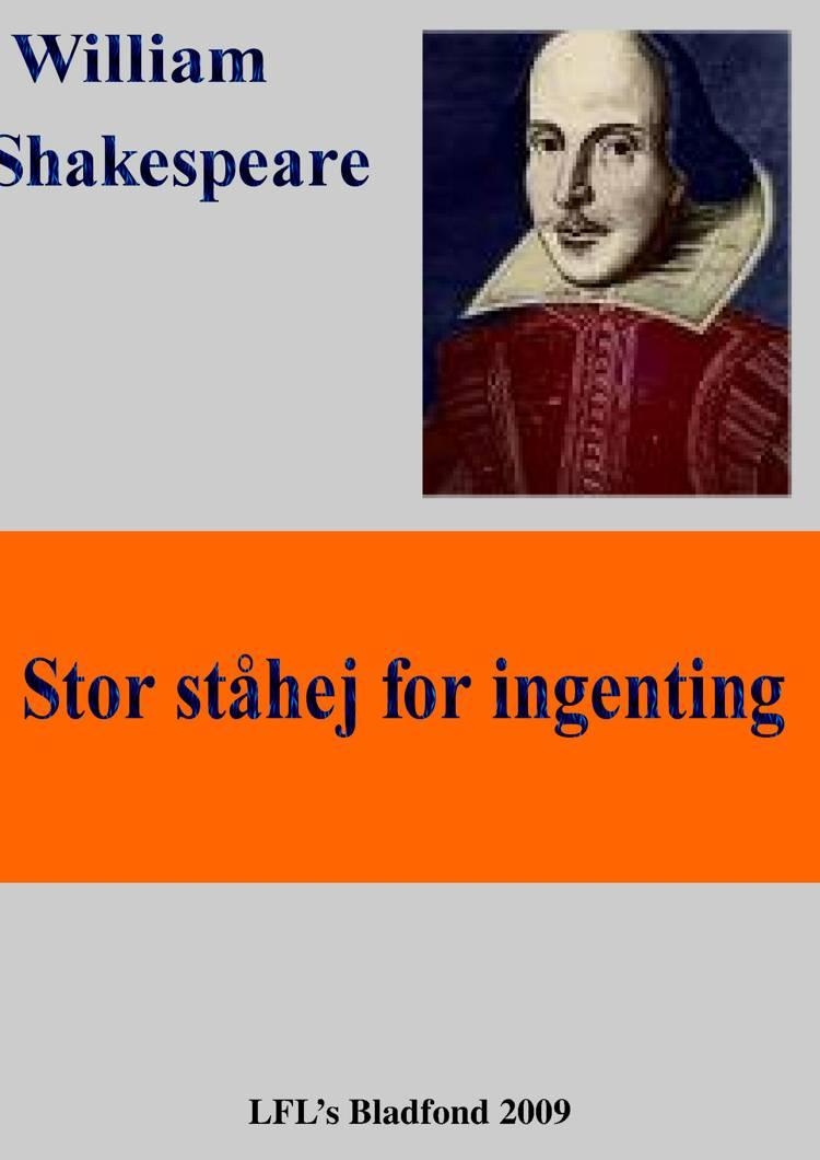 Stor ståhej for ingenting af William Shakespeare