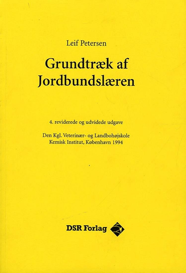 Grundtræk af jordbundslæren af Leif Petersen