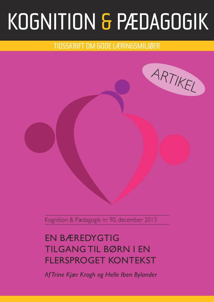 En bæredygtig tilgang til børn i en flersproget kontekst af Trine Kjær Krogh og Helle Iben Bylander