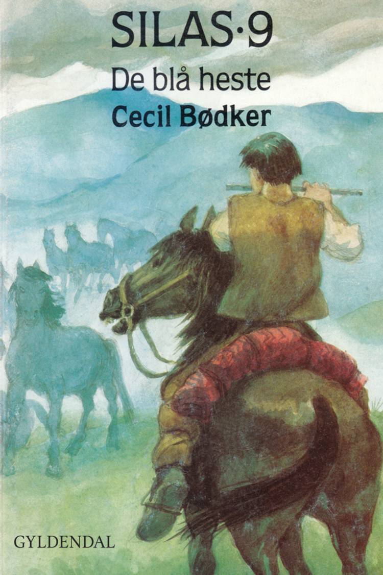 De blå heste af Cecil Bødker