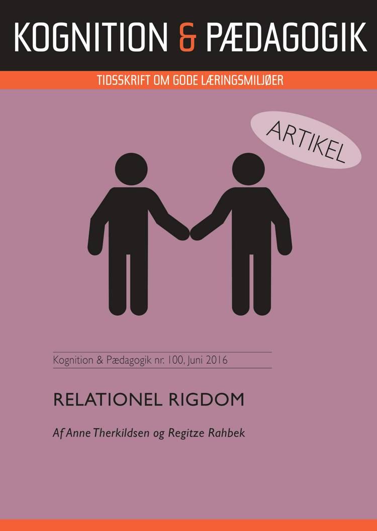Relationel rigdom af Regitze Rahbek og Anne Therkildsen