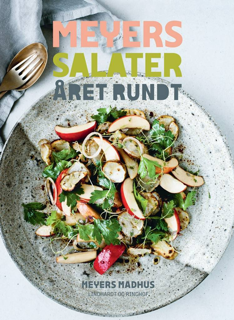 Meyers salater året rundt, salater, salatopskrift, Claus meyer, Meyers, grøn mad, sund mad