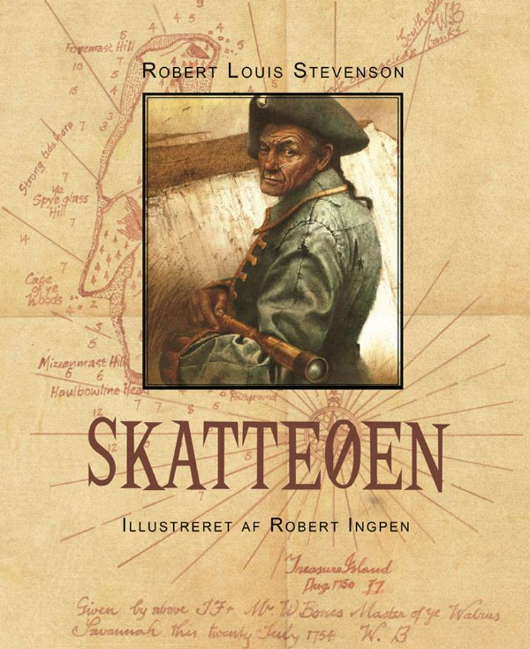 Skatteøen af Robert Louis Stevenson