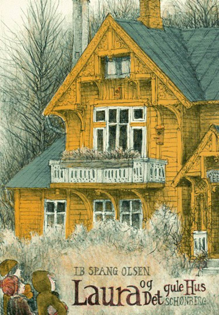 Laura og det gule hus af Ib Spang Olsen