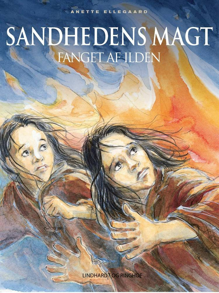 Fanget af ilden af Anette Ellegaard