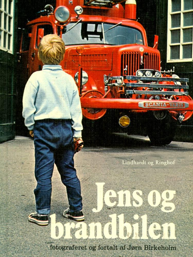 Jens og brandbilen af Jørn Birkeholm