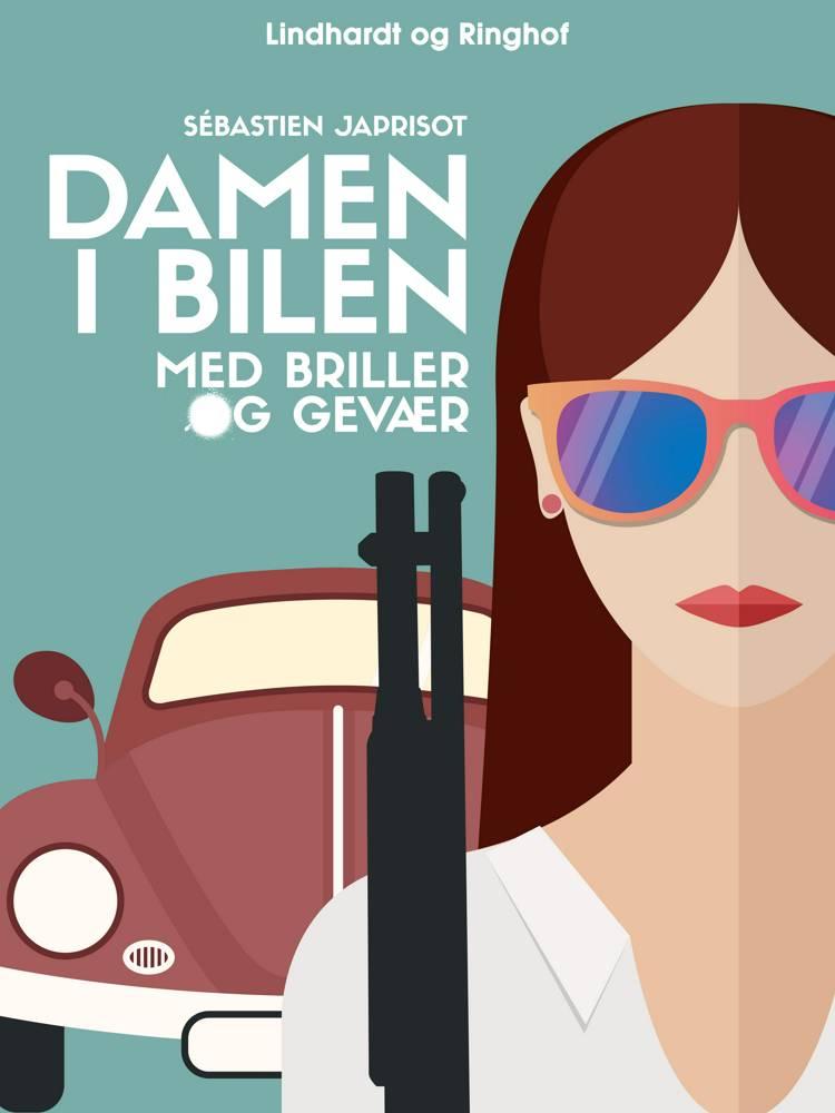 Damen i bilen med briller og gevær af Sébastien Japrisot