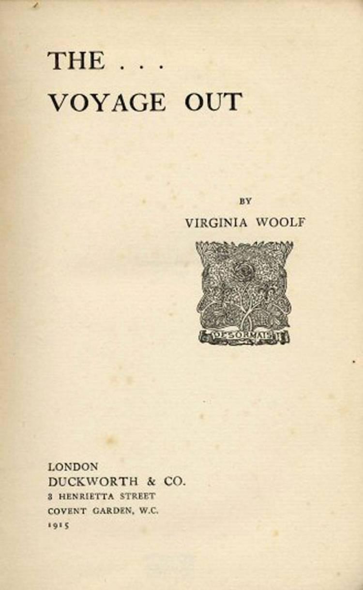 The Voyage Out af Virginia Woolf