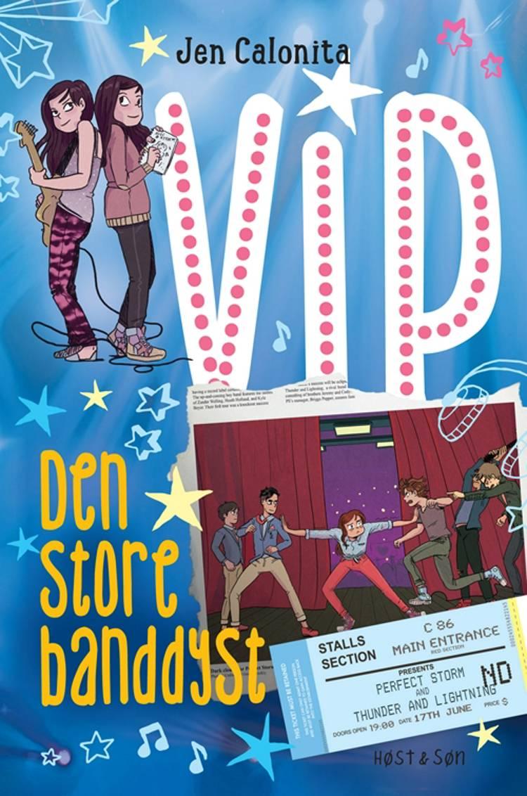 VIP - den store banddyst af Jen Calonita