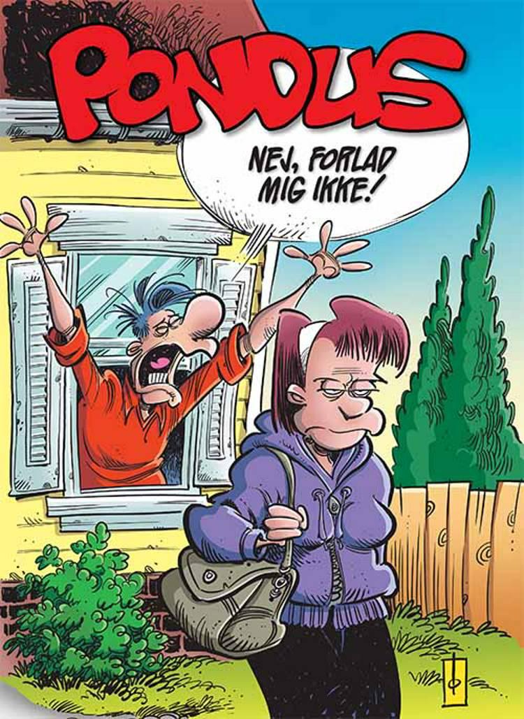 Nej, forlad mig ikke! af Frode Øverli