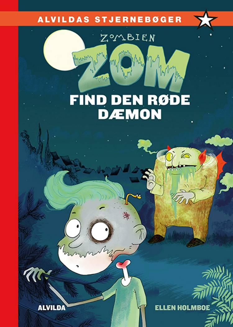 Zombien Zom - find den røde dæmon af Ellen Holmboe